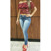 Calça Jeans For Use Hot Pants Levanta Bumbum - Frete Grátis
