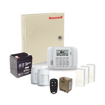 Alarma Residencial Inalámbrica Plus Honeywell Kit No. 4