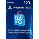 $20 Psn Play Station Network Card Para Store Usa