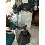 Escultura Bronce Cristal Sol Naciente Maestro Vurkovitsky