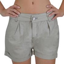Shorts Alma De Praia Khaki Social