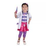 Disfraz De La Doctora Juguete Talla 6 Y Más Accesorios
