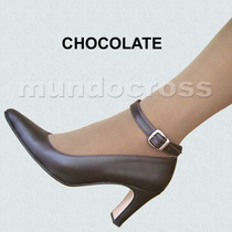 Zapatos Clásicos Stilettos Colores Taco Alto 41, 42, 43 Y 44