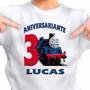 Festa Temática Thomas E Seus Amigos 3 Camisetas Aniversario