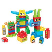 Mega Bloks Hacer Un Monstruo Building Blocks