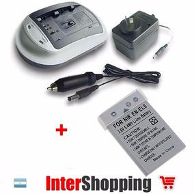 Cargador + Bateria En-el5 Compatible P100 P500 P510 P520