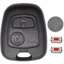 Frete Grátis Capa Chave Telecomando Peugeot 206 Citroen C3