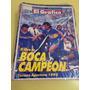 El Gráfico - El Libro De Boca Campeon Apertura 1992