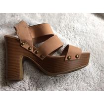 Sandalias Color Piel Marca Tatienne