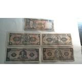 11 Billetes Antiguos Ecuador Sucres