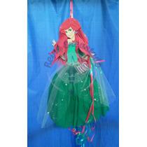 Piñata Infantil Ariel Sirenita