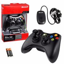 Control Inalambrico Microsoft Xbox 360+receptor Para Pc
