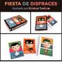 Rompecabezas Fiesta Disfraces Caja Madera Cristian Turdera