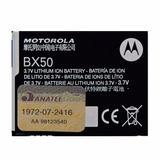Bateria Original Bx50 P/ Celular Motorola Zn5 Com Garantia
