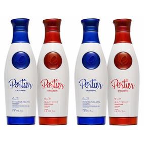 Portier Fine Escova Progressiva Exclusive 2 Kits + Brinde