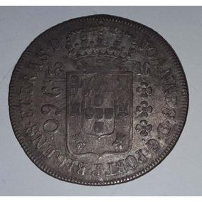 Moeda Prata Patacão 960réisr1816brasil/sobre 8 Reales Mexico