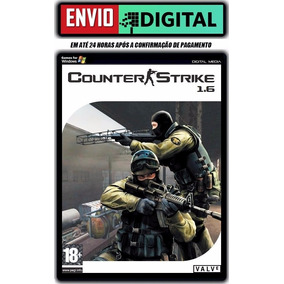 Counter Strike 1.6 - Com Mapa Cs Rio - Pc - Envio Digital
