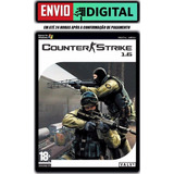 Counter Strike 1.6 - Com Mapa Cs Rio - Pc - Envio Digital