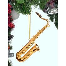 Instrumento Musical De Adorno (4,5 \saxofón Del Oro)