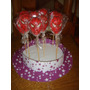 10 Chupetines De Chocolate Kitty Araña Frozen Souvenirs