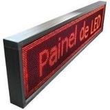 Painel De Led Letreiro Digital 100x20 Propaganda Promoção.
