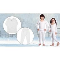 2 Camisa Segunda Pele Térmica Bebe Crianca Infantil