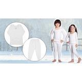 2 Camisa Seg Pele Térmica Bebe Crianca Infantil Brinde Meia