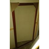 Espejo De 60x160 Marco Caoba