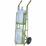 Carrinho Galao Agua Carro Para 2 Galoes Suporta 200 Kg