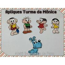 Apliques - Recortes Turma Da Mônica- 50 Unidades
