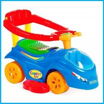 Carrinho De Passeio Azul Comfort Car Calesita C/ Alça