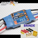 Esc Speed Control Hk 60a C/ Bec 5.5v 4a P/ Avião + Brinde
