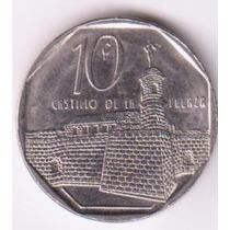 Cuba 2008 Moneda De Diez Centavos