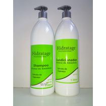 Shampoo & Condicionador Extrato Cupuaçu S/ Sal Hidratage 1 L