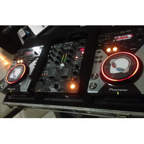 Cdj 400s Pioneer (par) Mais Mix Djm 400 Pioneer No Case