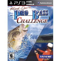 Pro Bass Pescaria Challenge Ps3 Psn Midia Digital Original
