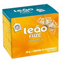 Chá De Camomila 10g - 10 Unidades - Leão