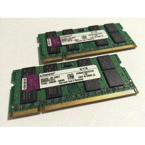 Kit De Memória 4gb (2x2gb) Ddr2 667 Kingston P/ Notebook Mac
