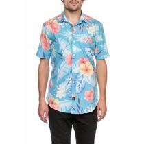 Camisa Volcom Hombre Safari Floral Fullprint S/s Shirt