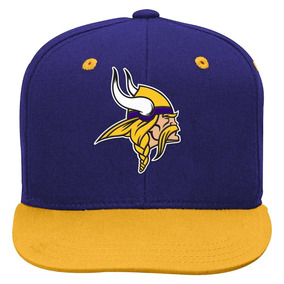 Gorra Nfl Team Minnesota Vikings Talla S - M Envio Gratis