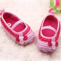 Zapatos Primeros Pasos Para Niña Color Rosa.
