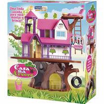 Casa Na Árvore Com Bonecas - Homeplay