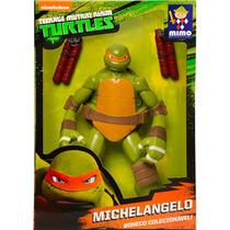 Brinquedos Menino Tartarugas Ninja Boneco Michelangelo 55cm