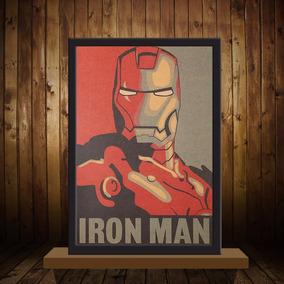 Poster Filme Homem De Ferro 51x36 Cm