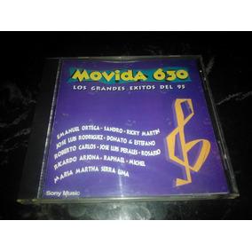 Cd Movida 630 Compilado Musica Latina Impecable