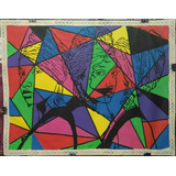 Pop Art Quadro Decorativo Pintura Sobre Tela Obra De Arte
