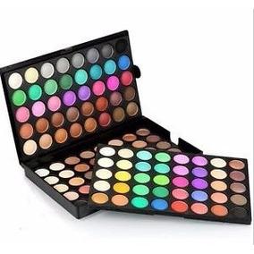 Paleta De Maquiagem 120 Cores Sombra Cintilante Fosca