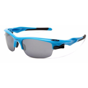 Gafas Oakley Fast Jacket 9097-04 Sky Blue-black Iridium