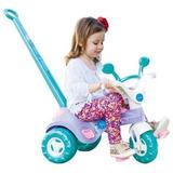 Triciclo Velotrol Charmosa Barbie Cotiplas Menina Brincar