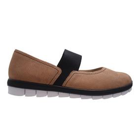 Zapato Guillermina Casual De Cuero Usaflex - Toto
